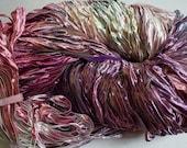 Party, Hand dyed ribbon yarn - Desert Rose ph, nylon 395 yds