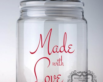 Made with Love-Vinyl Decals