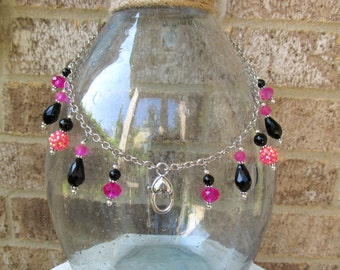 Treasure Keeper Necklace - Pink Lady