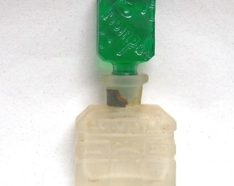 "Czech ""Triomphe"" Commercial Perfume Bottle"