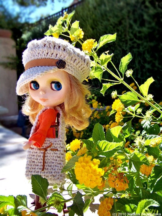 Crochet Hat Pattern For Blythe : Blythe Doll Clothes Blythe Clothes Blythe Outfit Blythe