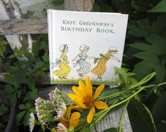 Vintage Kate Greenway's Birthday Book
