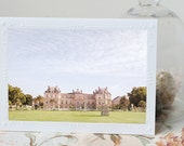 Paris Photography Notecard - Luxembourg Gardens, Paris Stationery, French Travel Note Card