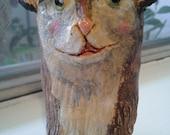 Ceramic Brown Bear Pot