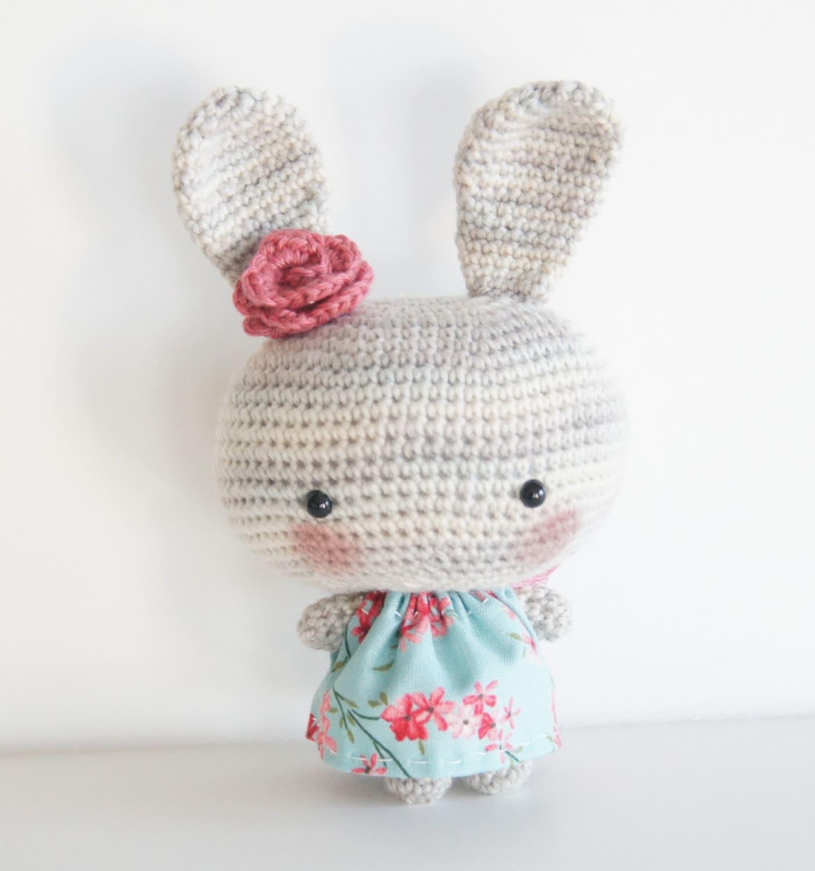 Amigurumi Etsy : Amigurumi Bunny Kawaii Plush Toy by AmbersAmi on Etsy