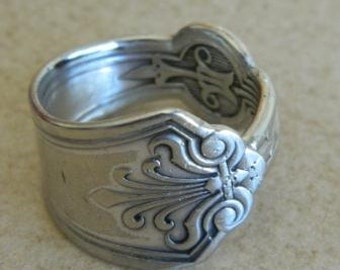 Vintage Spoon,  Ring, Size 9-1/2, VR1