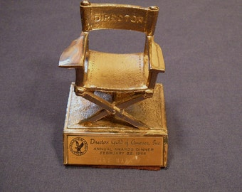 Genuine Hollywood Movie Award Directors Guild Statuette - Mary Marx