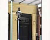 "New Orleans ""Corner Street Lamp"" Photograph. French Quarter Art,  Fine Art Print. Mardi Gras Wall Art Home Decor 8x10, 11x14, 16x20, 20x24"
