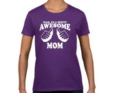 Gifts for Mom Mom Birthday Gift New Mom Gift Mom Christmas Gift Best Mom Wife Ever Mothers Day Shirt Mommy To Be Shirt Awesome Mom Shirt