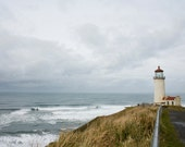 North Lighthouse, Cape Disappointment 8 x 12
