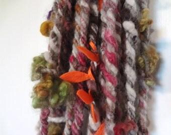 Audio Rocket handspun yarn 27 yds & 5 oz