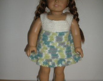 18 inch doll-Sun dress with shoes