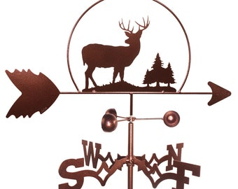 Hand Made Deer Buck Wildlife Weathervane NEW