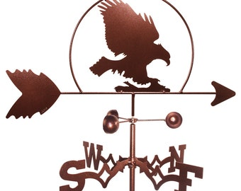 Hand Made Bald Eagle Hawk Bird Weathervane NEW