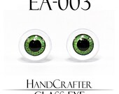 1 pairs - 12mm Handmade glass eyes Human Eyes Monster Eyes Cat Eyes EA-003 NO WASHER