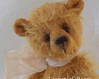 Harvey Miniature Teddy Bear E-pattern