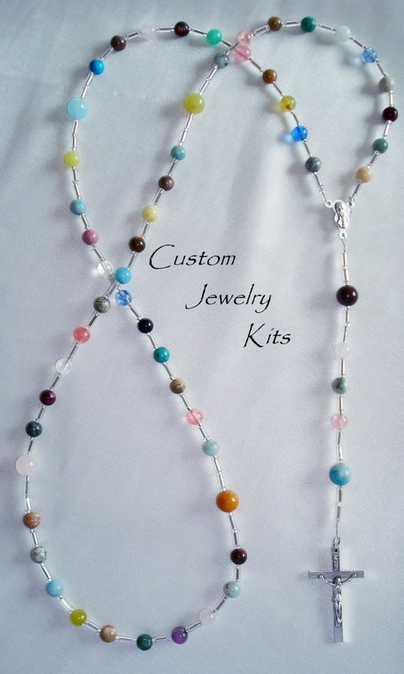 cord rosary bracelet instructions