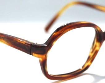 Vintage 1960's Tortoise Shell Glasses Made in Italy.