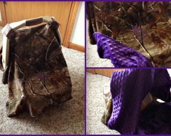 Hunting Camo Carseat Canopy- you design it!