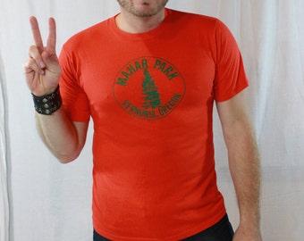 SALE ITEM Vintage 80s Orange Oregon Tee shirt