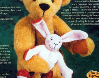 Teddy Bear Rabbit PDF Sewing Pattern - Easterman & O'Hare