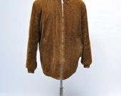 vintage clicker style coat vintage jacket work wear mechanic hot rod car club coat corduroy shawl sir jac