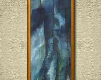 Topaz - Fine Art Print on heavy Cotton Canvas - unframed