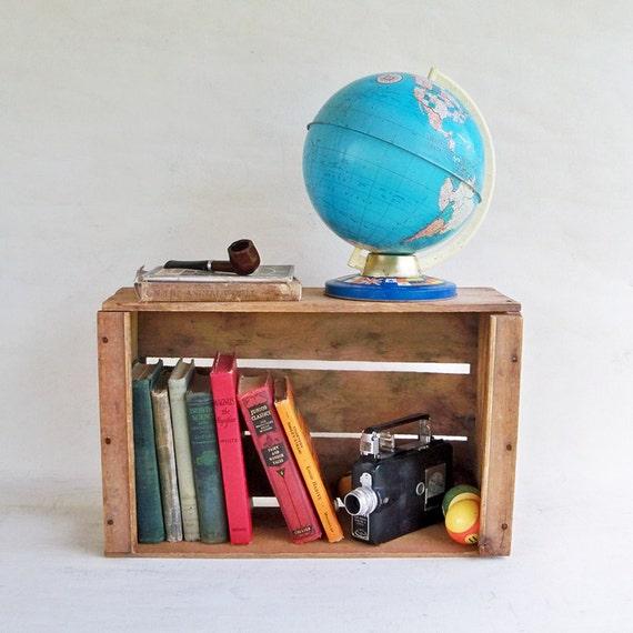 Vintage Wood Fruit Crate - Produce Box