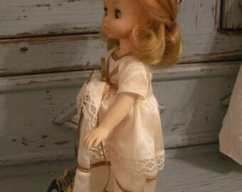 Vintage little Sleeping Beauty Doll