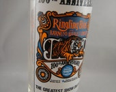 Reserved  Ringling Bros and Barnum and Bailey 100th Anniversary Glass Pepsi 1975
