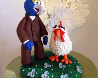 Specialty Muppet Keepsake Wedding Cake Topper