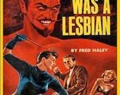 Satan Was A Lesbian - Pulp Fiction Magnet