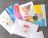 Postcards Set of 5  - Fine Art Postcard 4x6 Size Prints