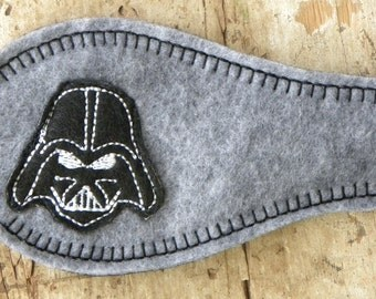 Eye Patch - Darth Vader theme (also available in SMALL)