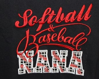Softball Baseball Nana