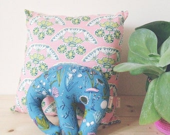 Edwina the Elephant cushion