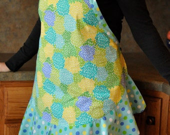 Vibrant and Summery Women's Full Apron