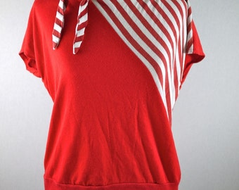 Red Striped Sailor Shirt