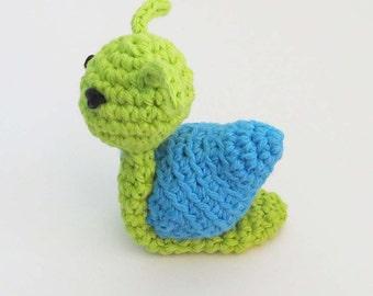 Catnip Snail - Choose Your Colors - Catnip Cat Toy