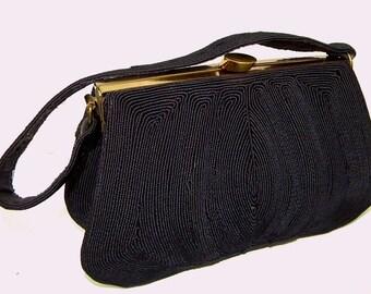 Vintage Blue Corde Handbag