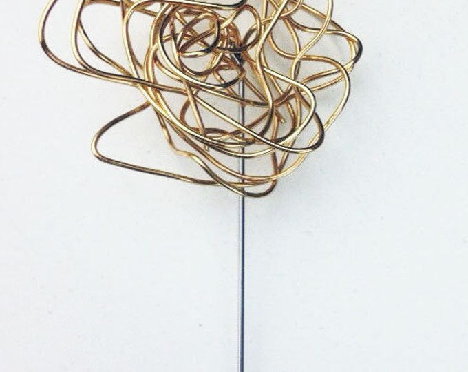 Tangled Wired Lapel Pin