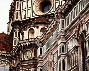 Italy Photograph - Fine Art Photography, Florence, Duomo, gothic, cathedral, vertical, architecture, dome, Italy art, home decor, wall decor