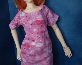 MARKDOWN - Pink SD SD13 60cm BJD Pullover Night Dress