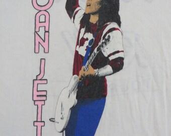 JOAN JETT 1982 tour TSHIRT