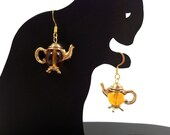 Translucent Teapot earrings