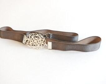 Grey belt, Silver belt, Bridesmaid Belt, Wedding belt, Waist Belt, Skinny Belt, Skinny belt, dress belt, Bridal belt, Dainty belt