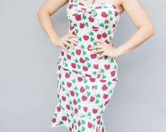 Vintage 1990's Dress - Shimmy - Sexy Nineties Moschino Desiger Wiggle Dress