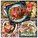 Digital Collage of  floral crapedness - 20 2x2 Inch JPG images - Digital Collage Sheet