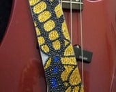 Swallowtail Butterfly guitar strap