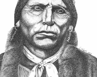 Quanah Parker - Note Card Package